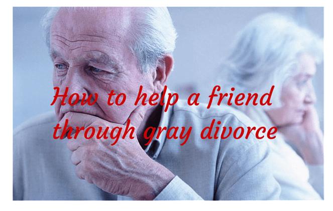 how to help a friend through divorce