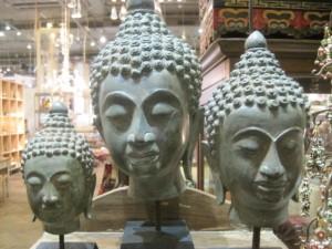 ABC buddha heads
