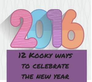 Kooky New Year customs