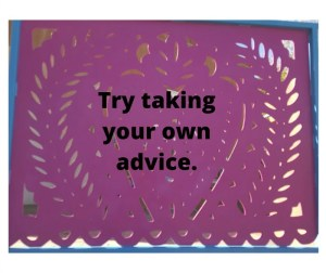 about advice