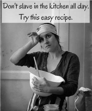 Easy scallops recipe