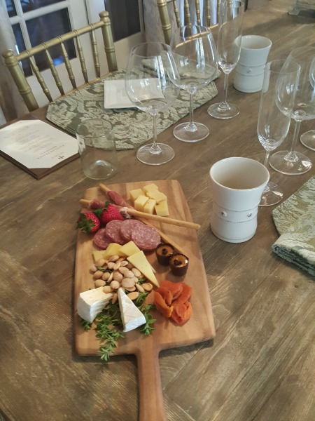 cheese tray pretty