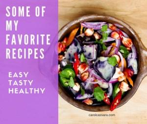 Easy, healthy favorite recipes