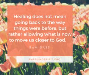 Ram Dass on healing