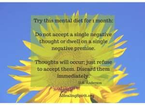 Mental diet