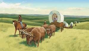 wagon-ho