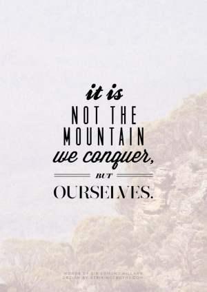 I will conquer