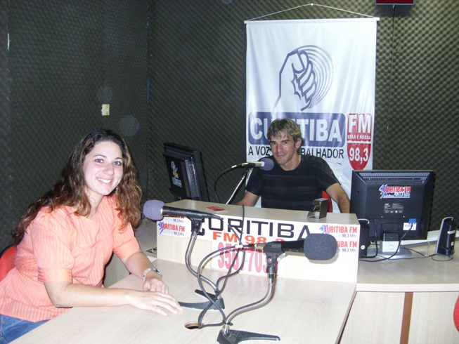Carol Chelly e Alceni Vieira