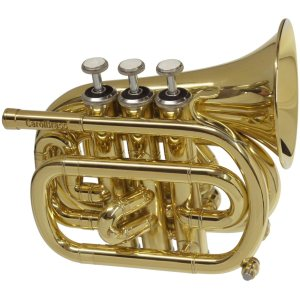 CarolBrass CPT-1000-YSS-Bb Mini Pocket Trumpet