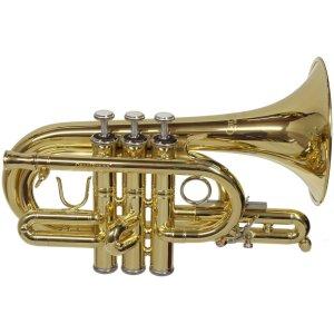 CarolBrass CPT-4000-YLS-C Pocket Trumpet