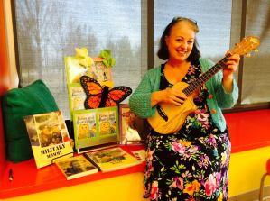 Carol and ukulele