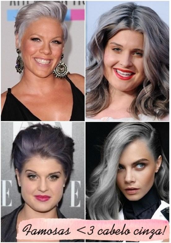 famosas com cabelo cinza granny hair