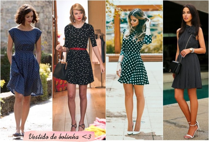 vestido bolinha dress polka dot
