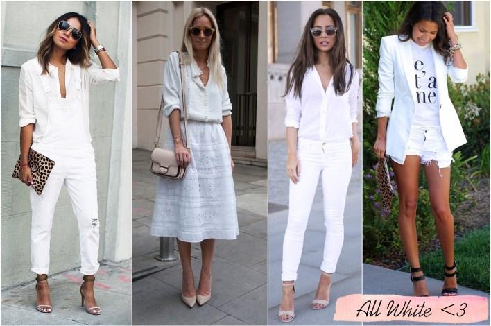 como usar all white