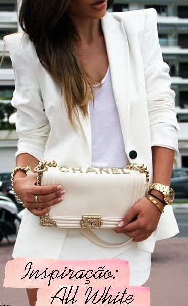 all white como usar