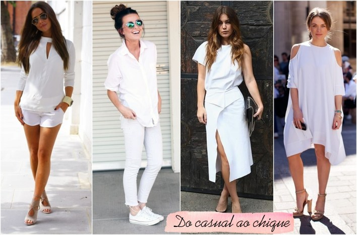 como usar looks all white