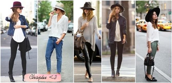 como usar chapéu com calça
