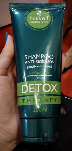 Shampoo Detox - Haskell