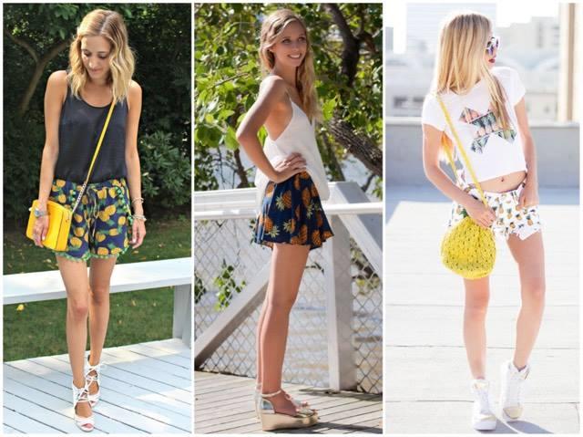tendencia-abacaxi-shorts