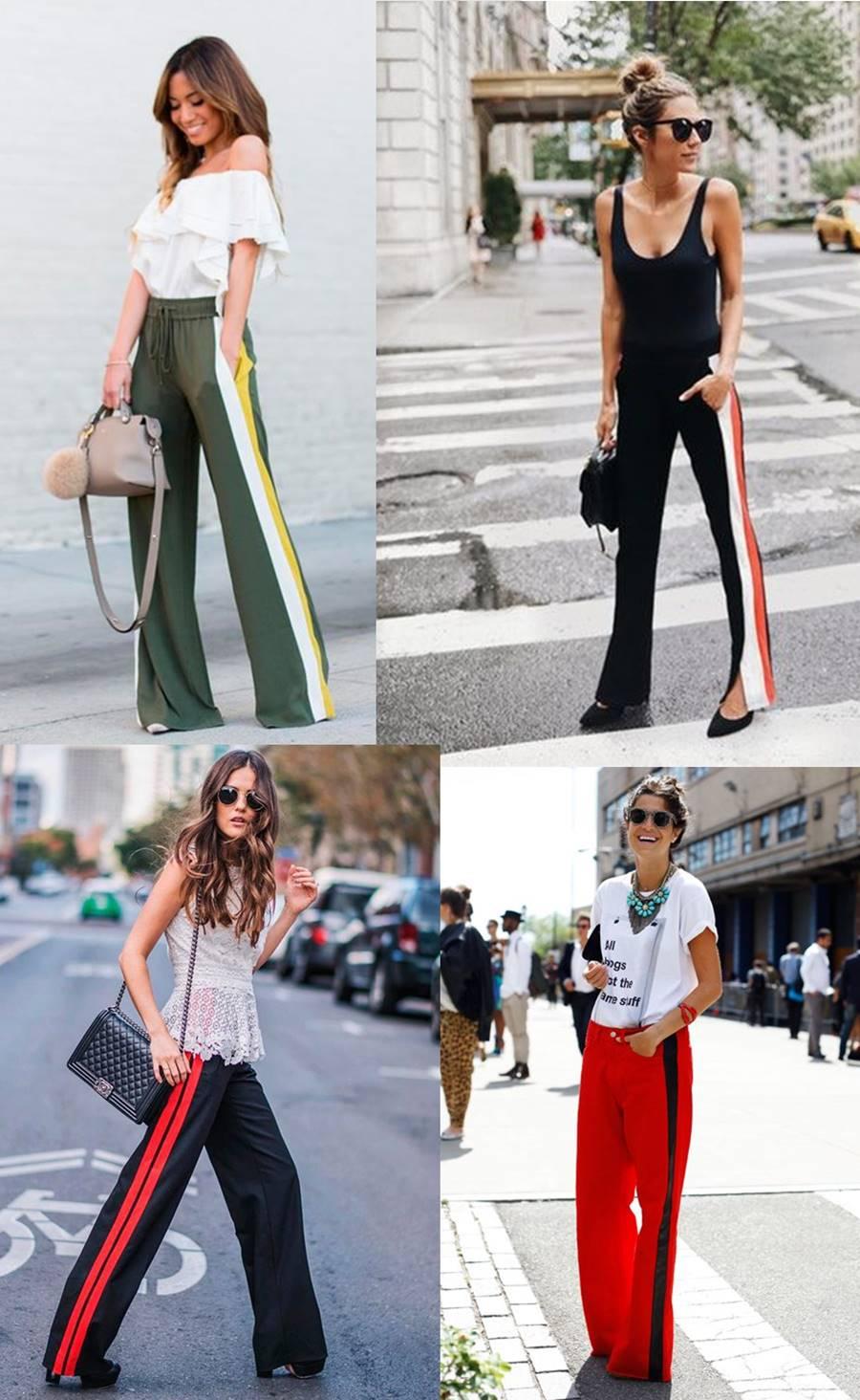 Como Usar e Onde Comprar: Calça com listra lateral - Carol Doria