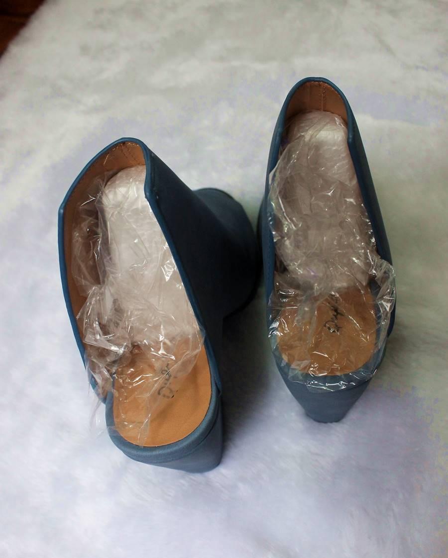embalagem sapatos compras Ami ClubWear Carol Doria