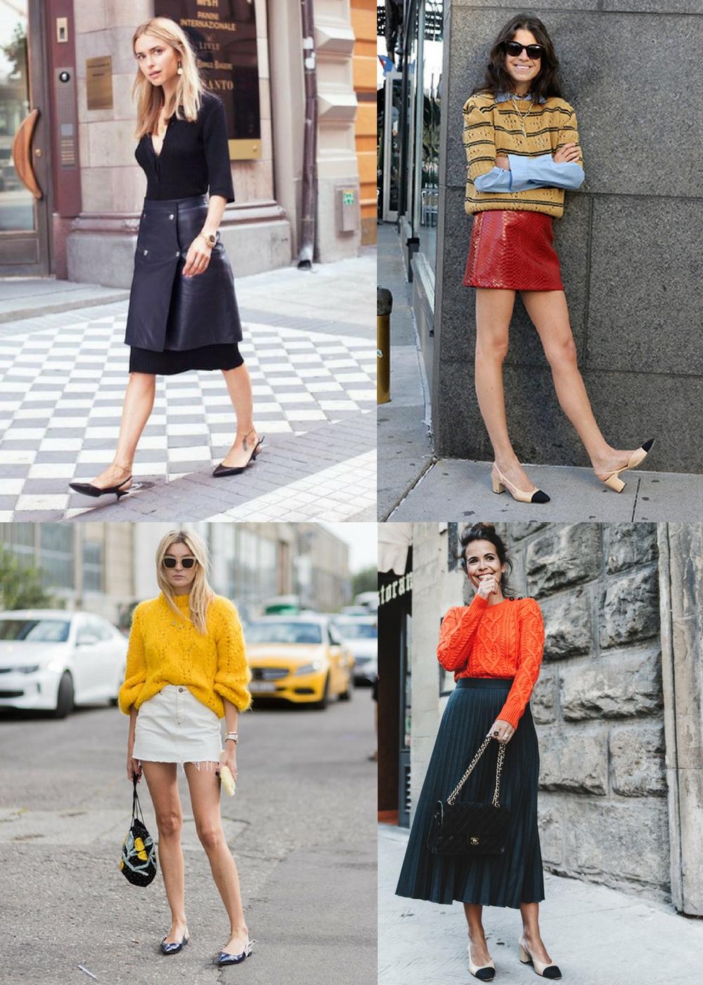 Tendência: Slingback, como usar com saia e onde comprar - Carol Doria