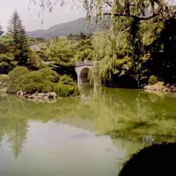 Korea/Bulguksa/pond/CarolDussere