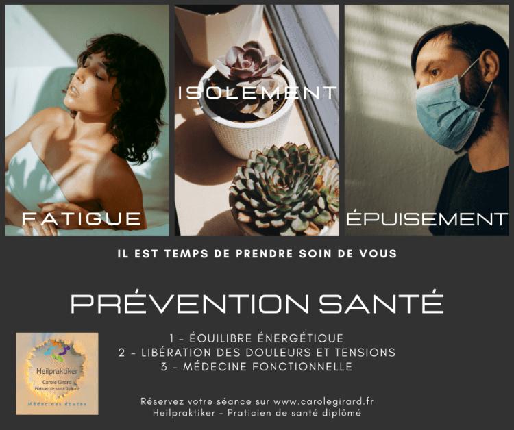Prévention-sPrévention - santé - fatigue - épuisement - isolement - Covidanté-fatigue-épuisement-isolement-Covid