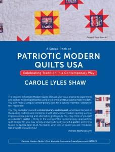 Patriotic Modern Quilts USA