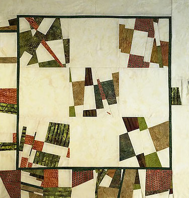 modern traditional quilt