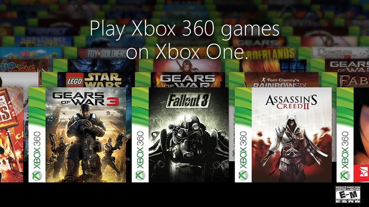 Xbox One : De nouveaux jeux rétrocompatibles