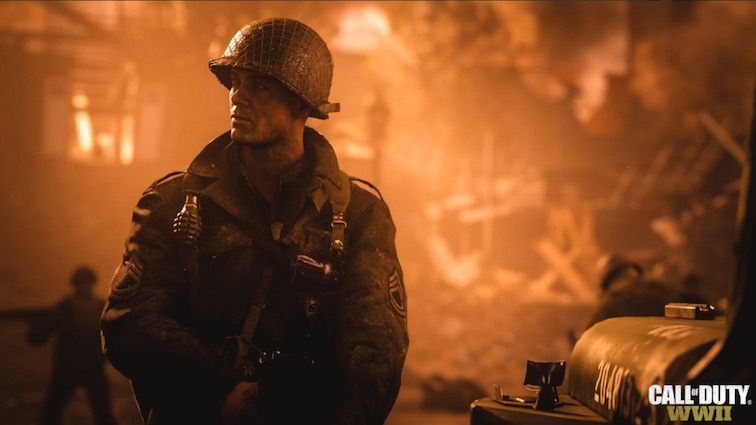 Call of Duty WWII : Découvrez le magnifique trailer d'un VRAI Call of !