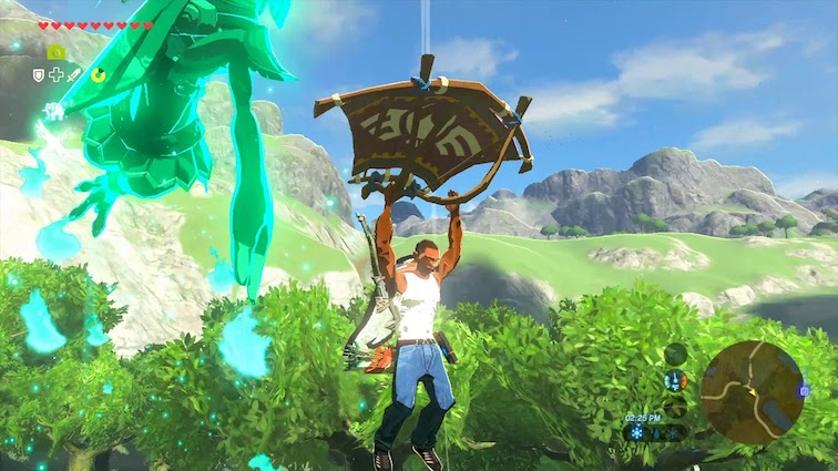 Zelda Breath Of The Wild : Il est possible d'incarner CJ dans le jeu !