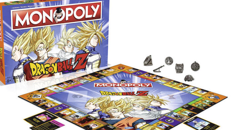 Monopoly Dragon Ball Z à moins de 30 € à l'occasion du Black Friday !