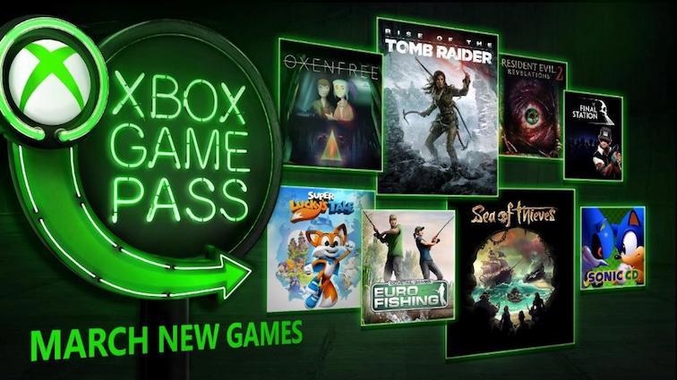 Xbox Game Pass : Voici la liste complète des jeux de mars