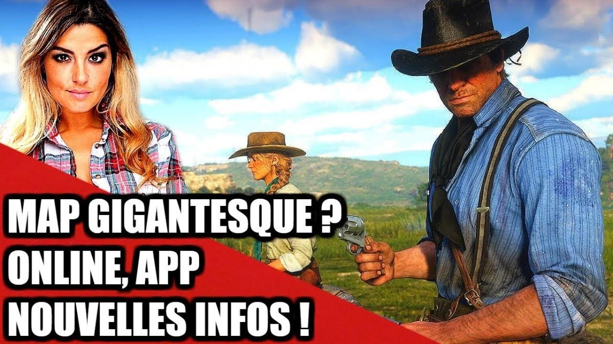 Red Dead Redemption 2, Map, Multi, Companion App, nouvelles infos ! Feat Rockstar Mag