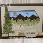 stamping mountainair stampinup cardmaking handmadecard rubberstamps fathersday