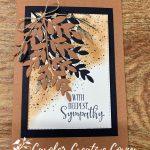 Forever Fern Bundle Sympathy Card