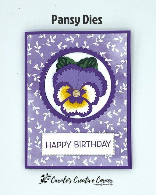 Pansy dies