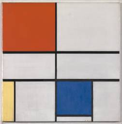 Composition C (No.III) with Red, Yellow and Blue 1935 by Piet Mondrian 1872-1944