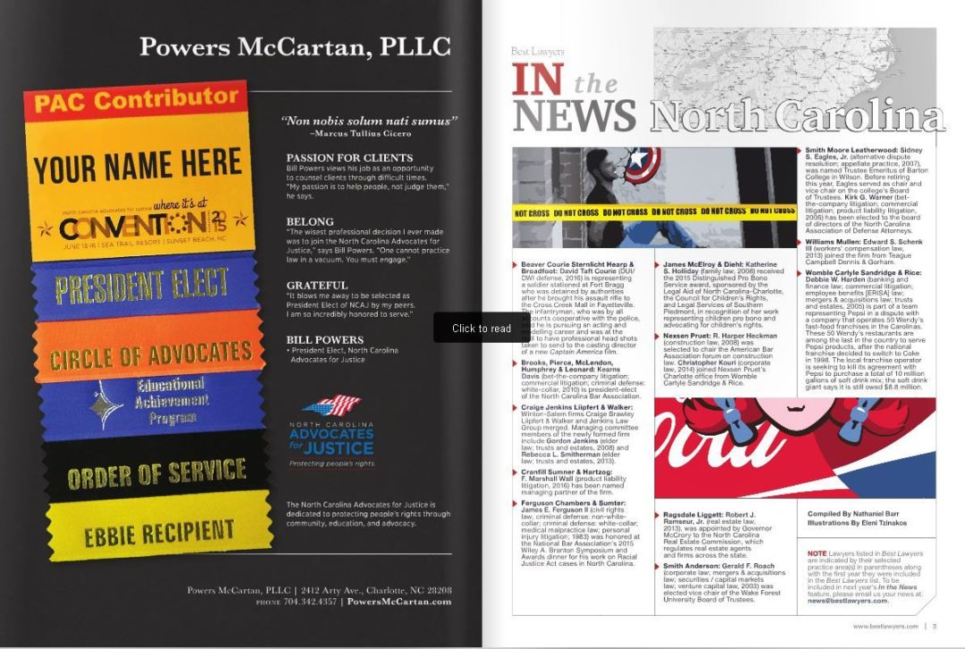 Powers Landreth PLLC Included in Best Law Firms List (2)