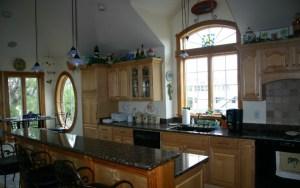 Custom interiors kitchen