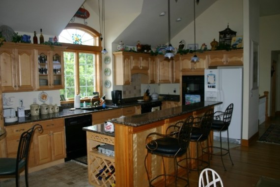 Custom interior design of kitchens in Outer Banks homes