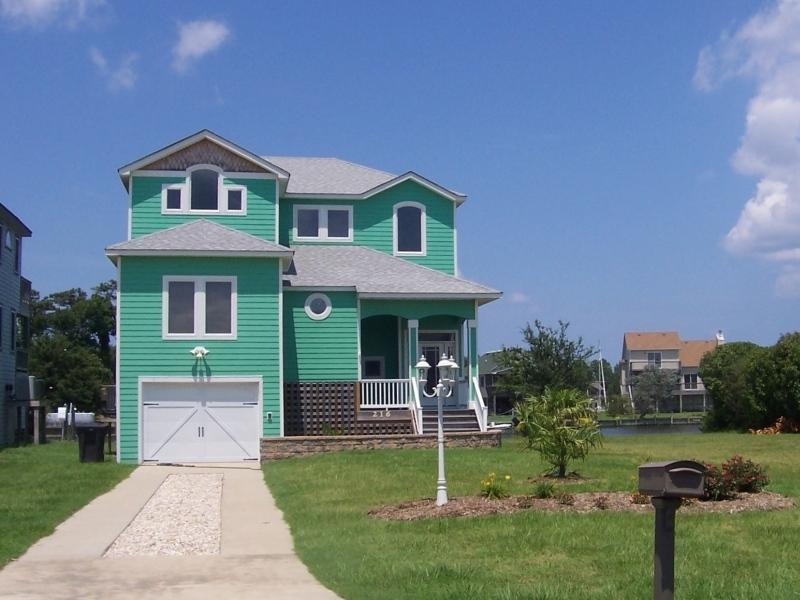Custom built home for residence in Colington Harbor