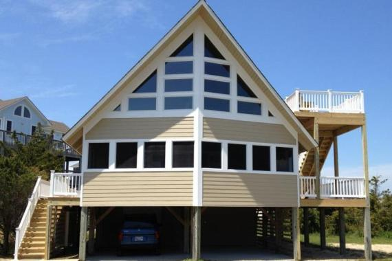 Outer Banks Beach Box Conversion after renovation