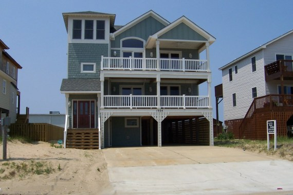 Outer Banks home after a complete renovation