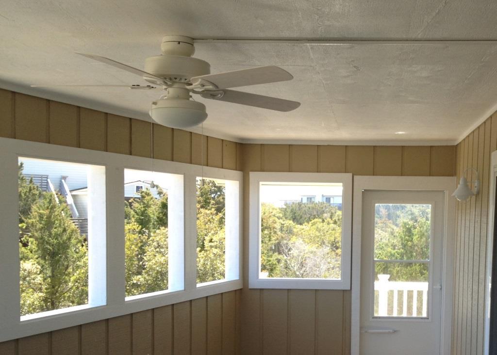 Beach Box renovation remodel of porch