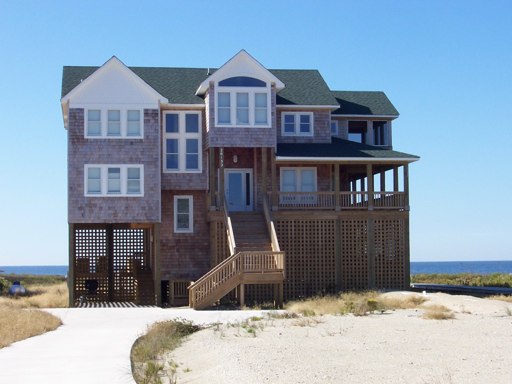 Custom home built on Hatteras Island NC