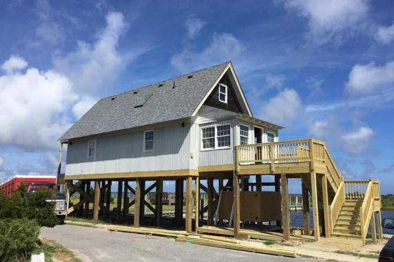 Salvo Vacation Home Renovation After