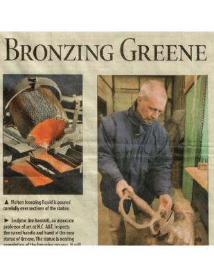 Bronzing Greene